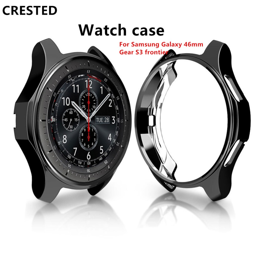 Gear S3 Frontier For Case For Samsung Galaxy Watch 46mm 42mm Case Cover Electroplated Gear S3 Classic Gear Sport Protective Case