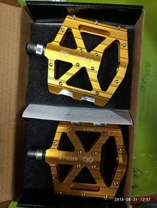 Image 5 - 古典的な SYUN LP 超軽量 DH MTB BMX breaing 合金プラットフォーム自転車ペダル