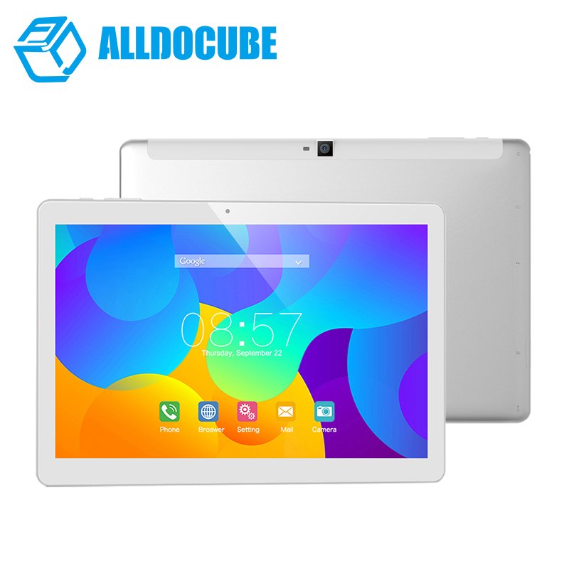 ALLDOCUBE T10 Dual 4G Phone Tablet PC 10.1 inch 1200*1920 IPS Android 6.0 MTK MT8783 Octa Core 2GB Ram 32GB Rom GPS купить в Москве 2019