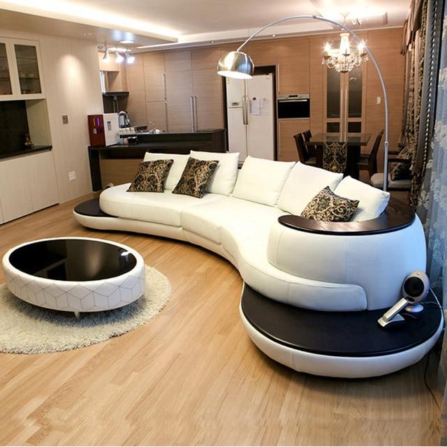 Creative Personality Fashion Modern Arc Sofa Sitting Room Furniture