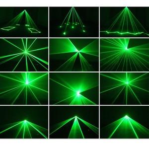 Image 4 - Professionnel DMX 100mW vert Laser scène éclairage Scanner Effcet barre de noël danse fête spectacle lumière DJ Disco Laser projecteur lumières