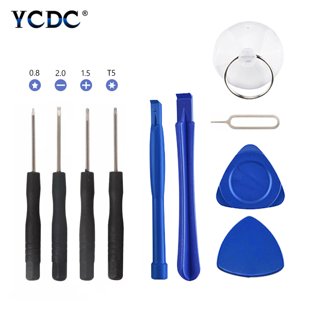 YCDC Professional phone repair tools Kits mobile tools Screwdrivers Tool Set For samsung s7 lcd s6 edge ferramentas para celular image