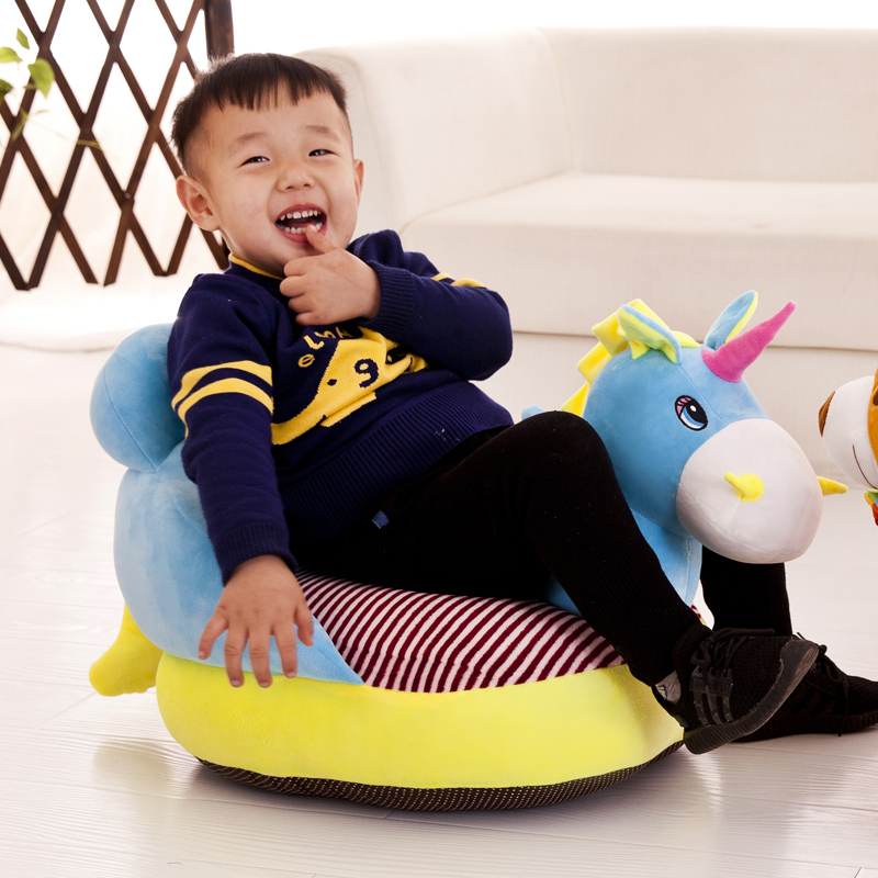 Children Chairs ChildrenSofas Cartoon Infant Small Sofa Stool Seat Cute Baby Kindergarten School Washable Lazy Chair Baby Gift