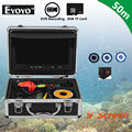"Free shipping!EYOYO WF09 50m Cable 9"" LCD 1000TVL Fish Finder Ocean Fishing Camera 8GB DVR Recorder"