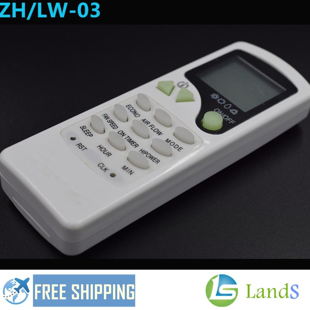sjlerst Telecomando per climatizzatore Resistente allUsura e Durevole La Distanza del Telecomando /è di Oltre 8 Metri Telecomando Intelligente per Chigo ZH-LW03 ZH//LW-03