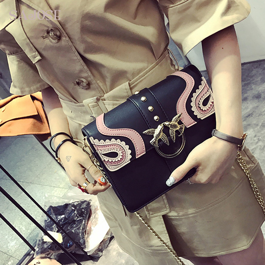 sajose 2017 do sexo feminino Bags Tipo : Casual Shoulder Women Bag