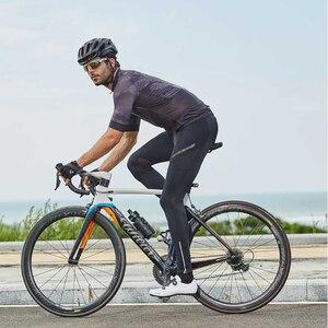 Image 2 - Брюки RION мужские для езды на горном велосипеде, длинные велосипедные брюки с подкладкой, полная длина, спортивные штаны для горного велосипеда, осень