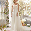 Best selling 2016 cheap ivory white size 2-16 wedding dress prices in euros 58EUR=65USD
