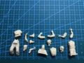 Sem pintura Kit 1/35 final DA SEGUNDA GUERRA MUNDIAL guerra alemão afv tripulação reconhecimentos 4 set homem figura Histórica DA SEGUNDA GUERRA MUNDIAL Figura de Resina Kit Frete Grátis