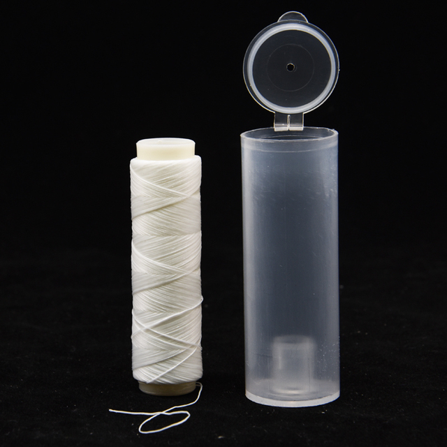 1pc PJ1/2/3/4/5 High Tensile Polyester Bait Elastic Thread Spool Sea Fishing Accessories Tackle Invisible Fishing Bait Line