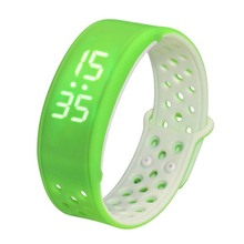 W9 Bluetooth V4.0 шаг счетчик активности на Водонепроницаемый IP67 спортивные Фитнес трекер Смарт-часы браслет, зеленый