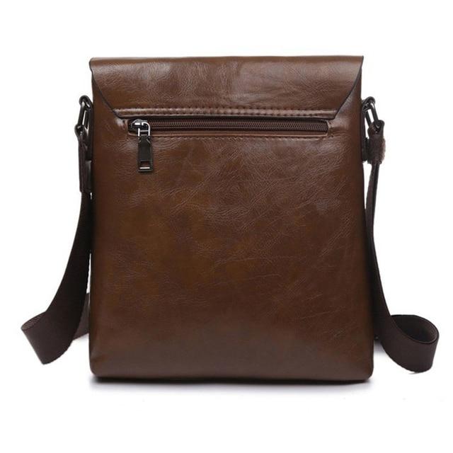 Men messenger bags top leather bag briefcase designer high quality shoulder bag 1
