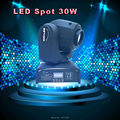 Envio rápido novo led spot luz em movimento da cabeça led spot light dj
