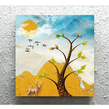 Youran New 5d diy Diamond Embroidery Scenery Art Tree Room Home Decoration Rhinestone Painting Full Round Sqaure Drill Gift