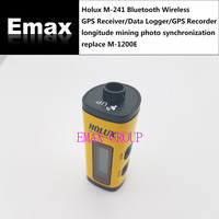 Holux M 241 Bluetooth Wireless GPS Receiver Data Logger GPS Recorder Longitude Mining Photo Synchronization Replace