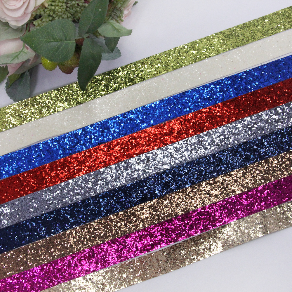 5/8 16MM synthetic leather sequins ribbon 5 yards,DIY handmade materials,wedding gift wrap,5Y49939