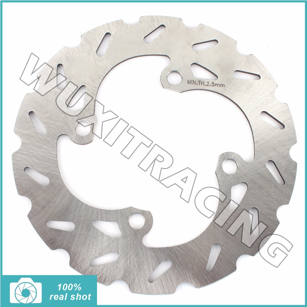 BIKINGBOY 03 04 05 180MM New Motorcycle Front / Rear Brake Disc Rotor fit for Suzuki RM65 RM 65 K3-K5 2003 2004 2005 motorcycle part front rear brake disc rotor for yamaha yzf r6 2003 2004 2005 yzfr6 03 04 05 black color