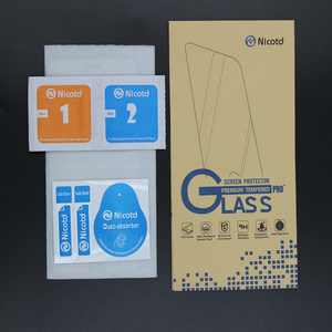 "Image 5 - Nicotd 2.5D Tempered Glass For Samsung Galaxy Note 3 III N9000 N9005 5.7"" Anti Shock Toughened Screen Protector Protective Film"