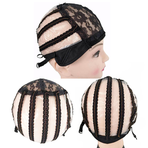 Image 5 - High Quality Lace Wig Caps For Making Wigs Black Dome Cap Wig Hair Net Hair Weaving Stretch Adjustable Wig Cap