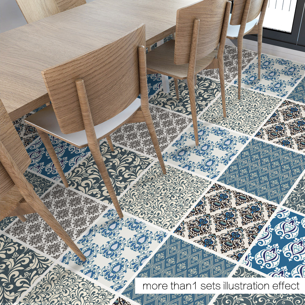 Funlife diy damascus decor floor stickers geometry wall sticker funlife diy damascus decor floor stickers geometry wall sticker removable floor sticker art decal home room bathroom db040 in wall stickers from home dailygadgetfo Image collections