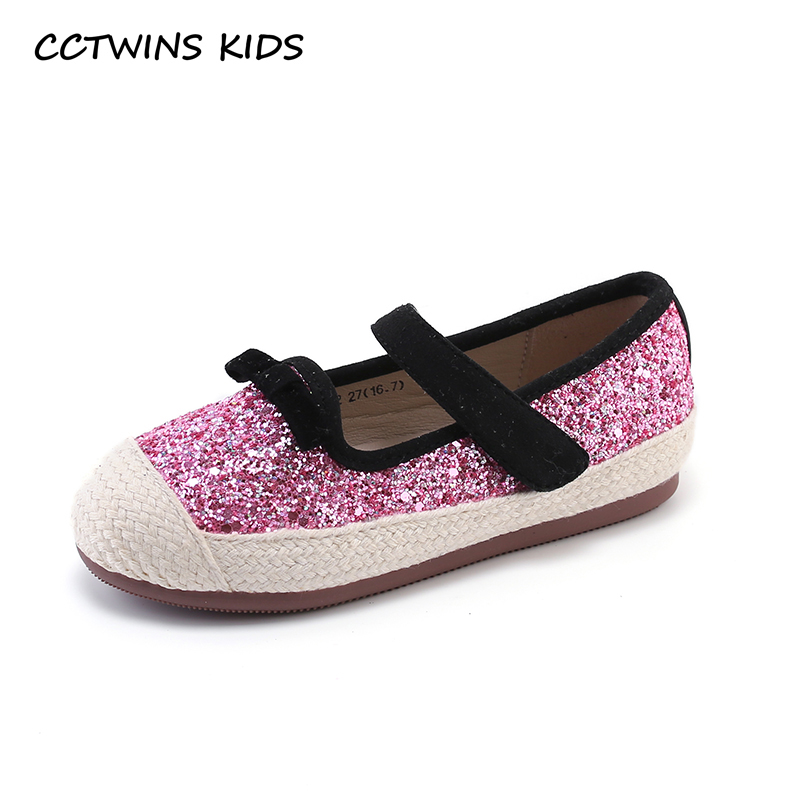 CCTWINS Kids Shoes 2019 Spring Girls Pink Glitter Shoe Baby Children Fashion Espadrilles Mary Jane Toddler Flats Black GE1695CCTWINS Kids Shoes 2019 Spring Girls Pink Glitter Shoe Baby Children Fashion Espadrilles Mary Jane Toddler Flats Black GE1695