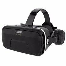 Новинка 2017 года etvr VR коробка 3D Очки виртуальной реальности 4.0 стерео наушники и регулируемый Бретели для нижнего белья для IOS/Android 4.7- 6.0 смартфон
