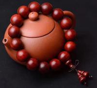 free shipping Venus Lobular red sandalwood 15 mm Bracelet Lovers fashion High end Ornaments