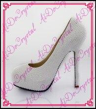 Aidocrystal High quality summer new sexy women shoes diamond high heels waterproof stiletto cross tied bride wedding pumps shoes