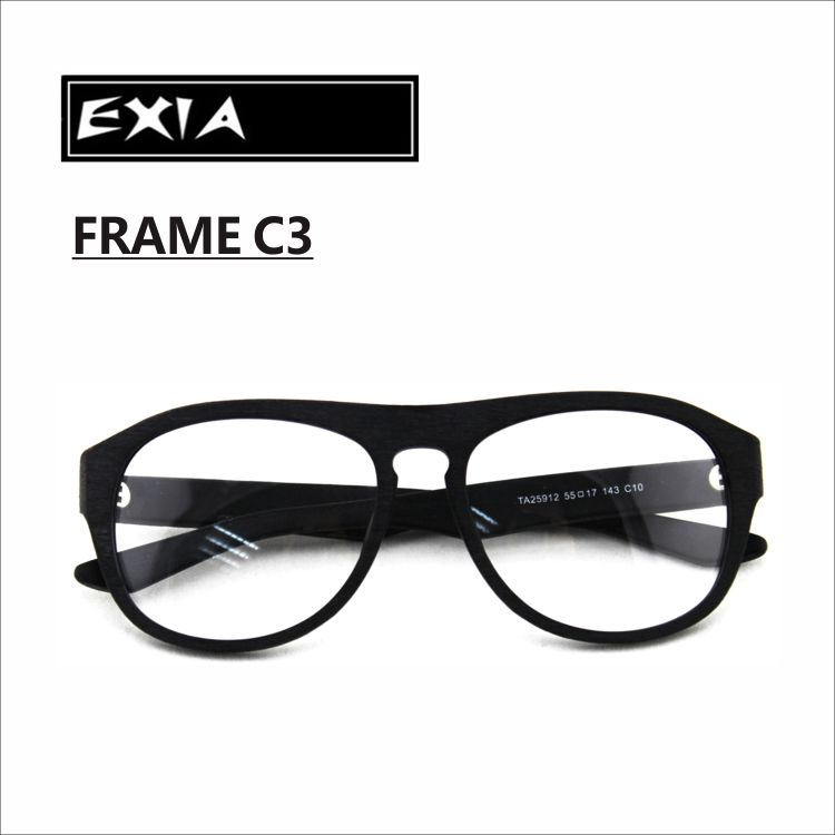 Hot Sale Black Glasses Acetate Frame for Men High Quality Spectacle ...