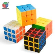 5,8 см куб магический куб 3x3x3 мальчики игрушка Скорость карман Стикеры Головоломка Куб 58mm профессиональный студент Развивающие игрушки для детей