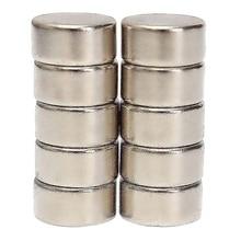 10 шт. N52 10 мм x 5 мм супер сильный цилиндр Круглый Редкоземельные неодимовые магниты на холодильник