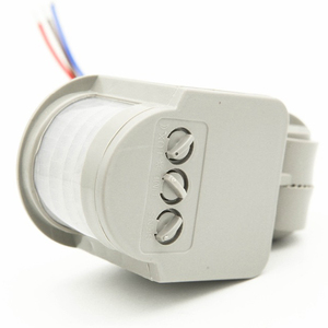 Image 3 - Motion Sensor Light Switch Outdoor AC 220V Automatic Infrared PIR Motion Sensor Switch With LED Light