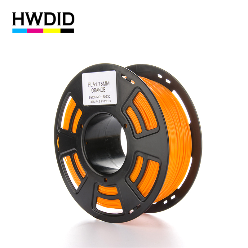 HWDID 3D Printer Filament PLA 1KG 1.75mm material Plastic Rubber Consumables Material for 3d Pen Printer for 3D pen handles pla filament 1 75mm 3d printer filament 1kg plastic consumables material various color for option