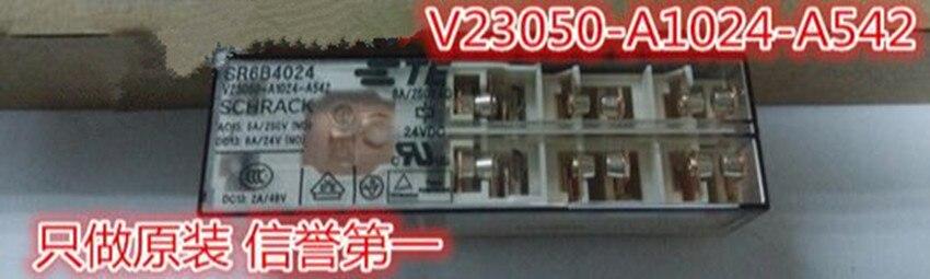 V23050-A1024-A542 24VDC TYCO SCHRACK SR6B4024 new and original huter r 250