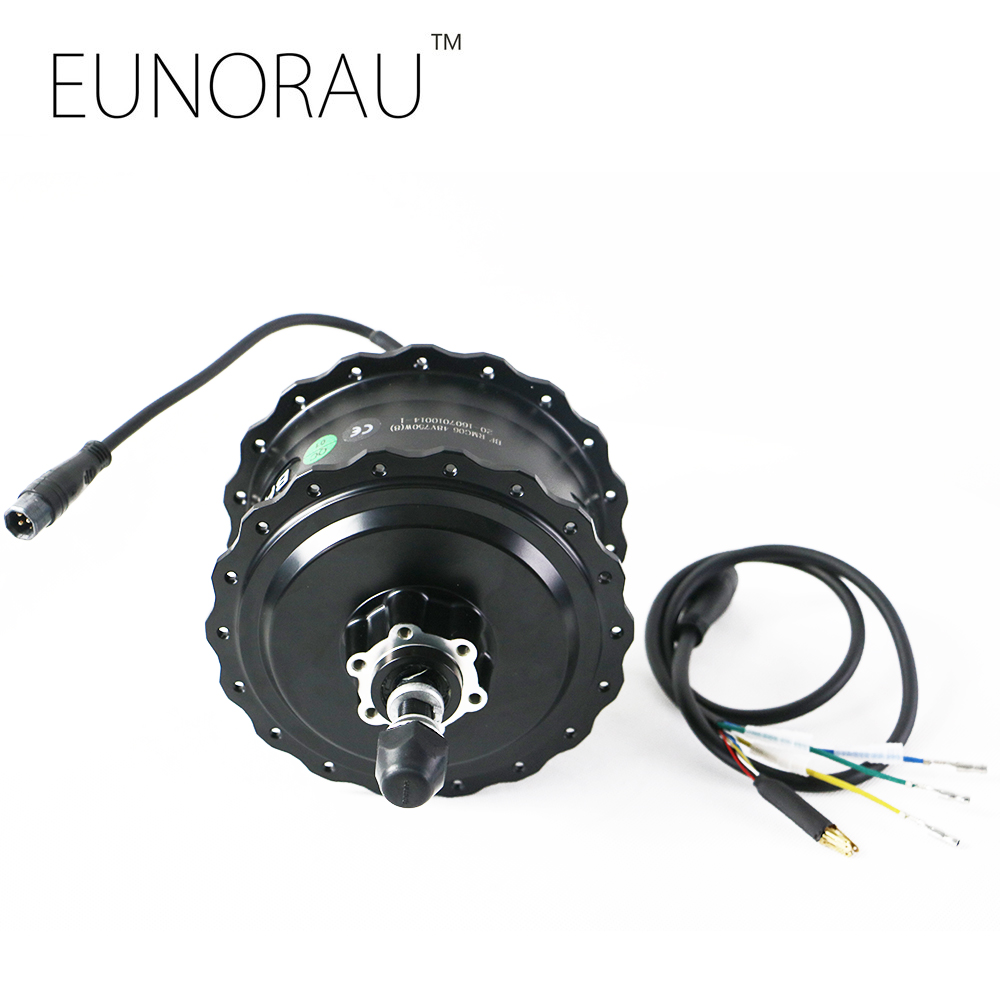 Prix pour Livraison gratuite bafang 48V750W arrière hub moteur avec frein à disque pour la graisse vélo