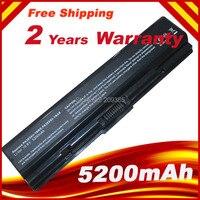 5200mAh NEW Laptop Battery For Toshiba Satellite L300 L305 L500 L505 PA3534U 1BRS 6cell