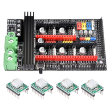 BIGTREETECH Ramps 1.6 plus update on the Ramps 1.6 1.5 1.4 Mega 2560 control board with TMC2208 TMC2130 SPI driver for 3d стоимость