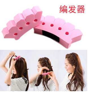 Girl hair styling tool hair accessories braids updo hairdo cornrows dreadlock easy quick ...