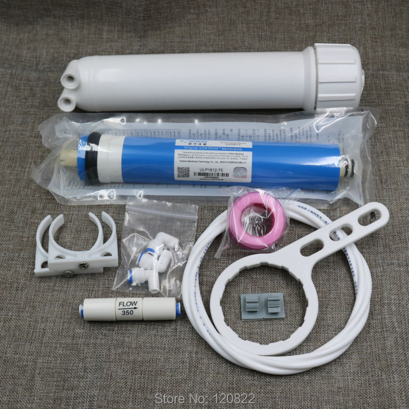 จัดส่งฟรี 75gpd Vontron RO เมมเบรน + 1812 RO เมมเบรน + ระบบกรองน้ำแบบ Reverse Osmosis อะไหล่-ใน ไส้กรองน้ำ จาก เครื่องใช้ในบ้าน บน AliExpress - 11.11_สิบเอ็ด สิบเอ็ดวันคนโสด 1