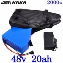 Бесплатная таможенная пошлина 48 V 2000 W литиевая батарея 48 V 20AH Ebike батарея 48 V 20AH Электрический велосипед батарея с 50A BMS 54,6 V 5A зарядное устройство