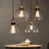 Loft Vintage RH Pendant Light Industrial Pendant Lamps Dining Room Hang Lamp Kitchen Lighting Fixtures Luminaire