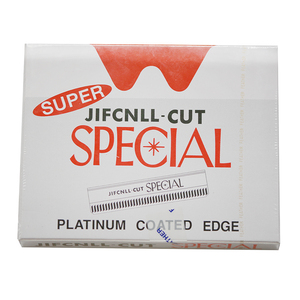 100 pieces/ lot ,WholesaleSuper JIFONLI-CUT SPECIAL Razor Blades/ Sharp blade for hair razor with removable blades+