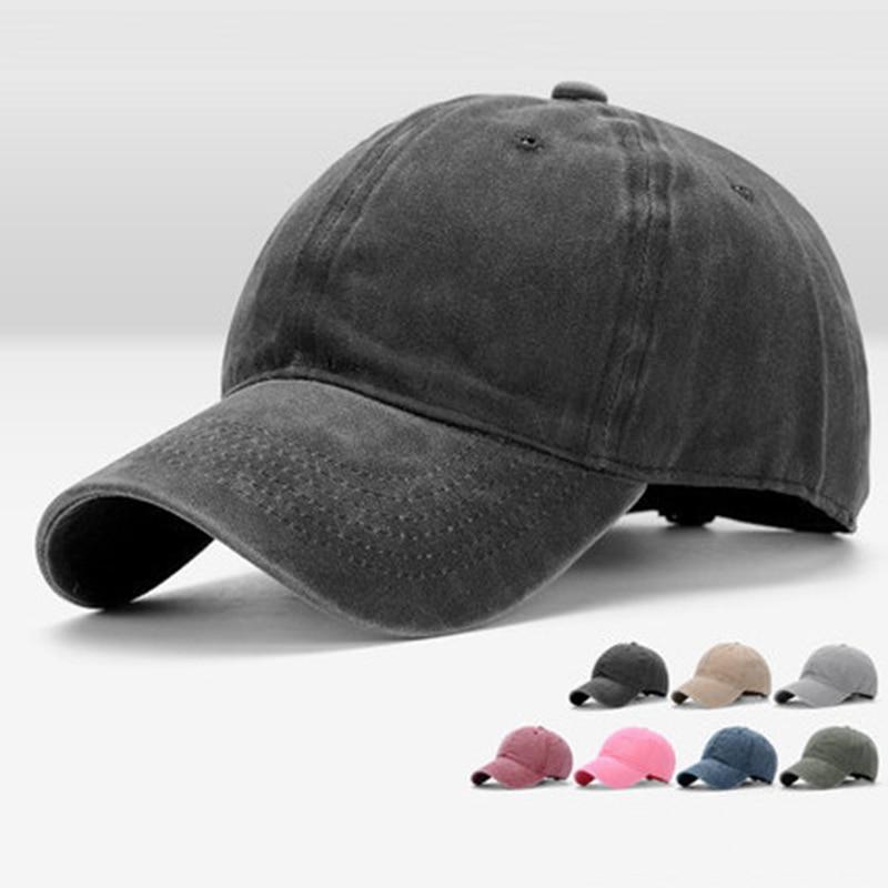 2017 Women Snapback Caps Men Baseball Cap Hats For Men Casquette Plain Bone Gorras Cotton Washed Blank Vintage Baseball Caps Hat