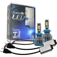 Автомобиль светодио дный лампы H7 H11 H1 H3 9005 9006 9012 для автомобилей Противотуманные фары светодио дный лампы 70 Вт 7000LM H4 H13 9007 9004