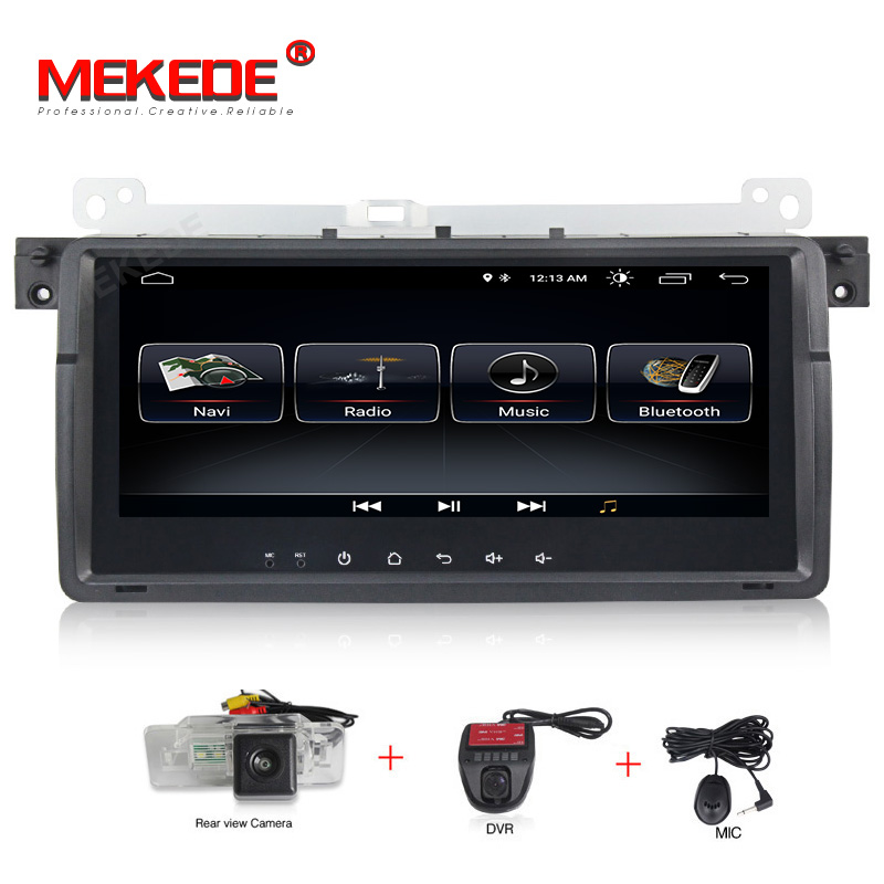 MEKEDE Car Multimedia Player 1 Din Android 8.1 For BMW E46 M3 Rover 75 Coupe Navigation GPS DVD Car Radio 318/320/325/330/335MEKEDE Car Multimedia Player 1 Din Android 8.1 For BMW E46 M3 Rover 75 Coupe Navigation GPS DVD Car Radio 318/320/325/330/335