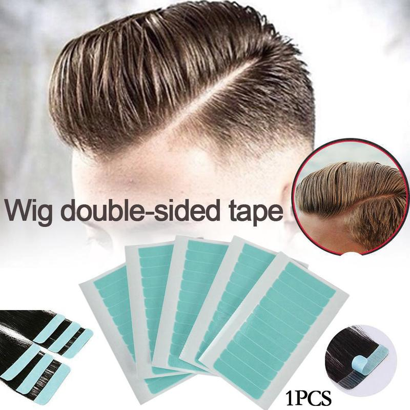 1 Sheet 12 Pcs 4cm*0.8cm CPAM Super Hair Tape Adhesive Double Side Tape For Remy Human Hair, Tools For Hair Extension