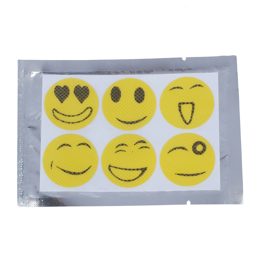 6 Pcs/Bags Baby Anti Mosquito Drive Midge Stickers Repellent Patch 5.5 * 4 * 8CM random color