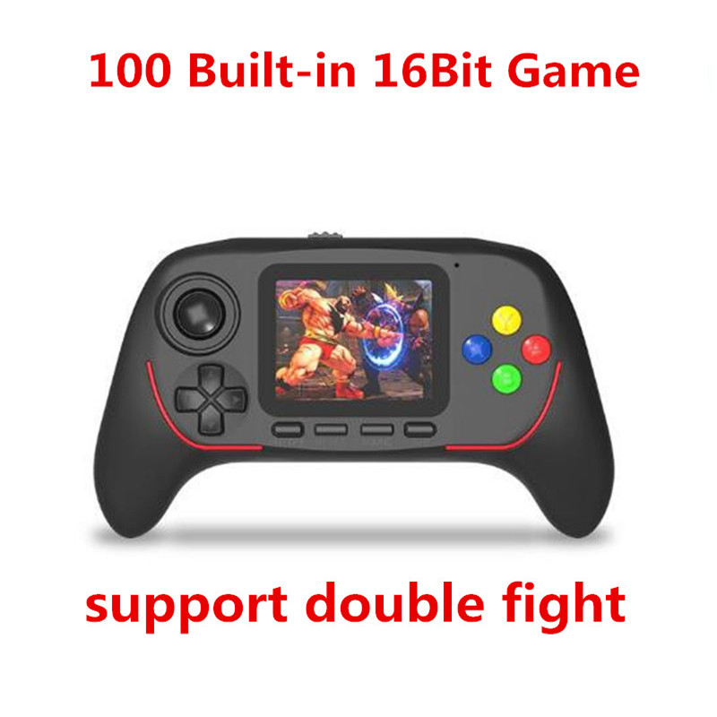 Handheld Game Console Portable Mini Video Gaming Players With Bluetooth Built-in 100 Classic game 16-bit handheld game console