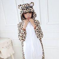 Pajamas Combinaison Pajama Animal Women's leopard bear Full Sleeve Hooded Pajama Sets Pajamas For Women