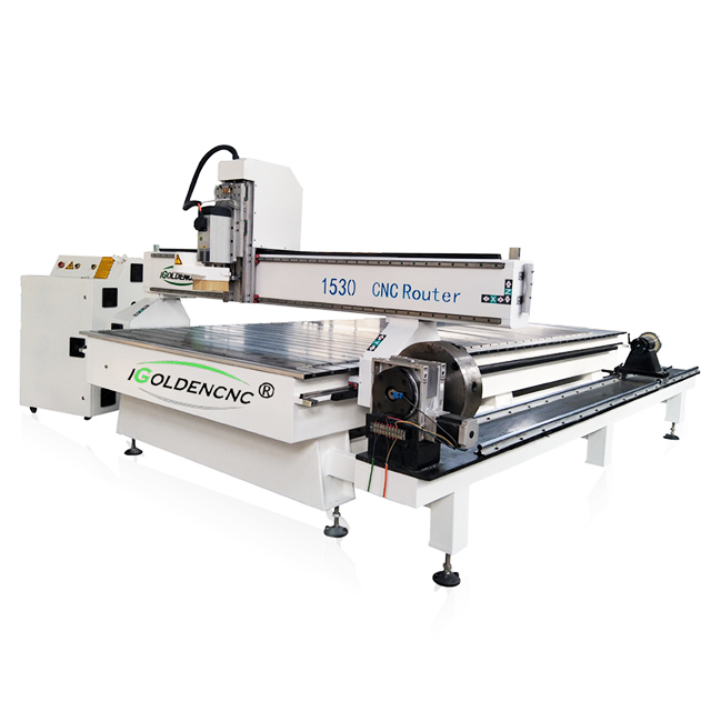 Automatic Woodworking 3D CNC Woodwork Machine 4th Axis Wood Carving CNC Router Engraving Guitar Cabinet